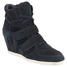 Buy Ash Bea High-Top Trainers, Navy Online at johnlewis.com