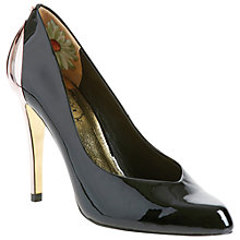 Buy Ted Baker Norva Court Shoes, Black Online at johnlewis.com