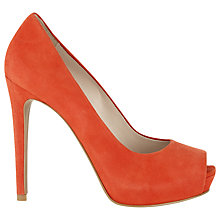 Buy Whistles Cherrute Peep Platform Shoes Online at johnlewis.com