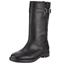 Buy See by Chloé Debbie Biker Calf Boots, Black Online at johnlewis.com