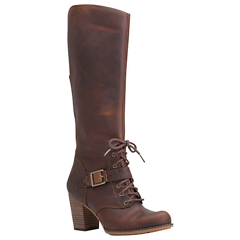 Buy Timberland Trenton Tall Knee Boots, Tabacco Online at johnlewis.com