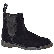 Buy Dr. Martens Kensington Floren Ankle Boots, Black Online at johnlewis.com