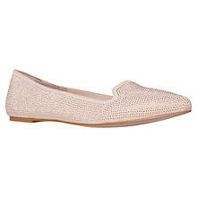 Buy Carvela Lamb Ballerina Pumps, Nude Online at johnlewis.com