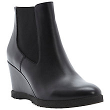 Buy Dune Pontin Wedged Ankle Boots Online at johnlewis.com