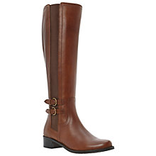 Buy Dune Timpleton Leather Riding Boots Online at johnlewis.com