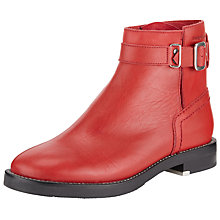 Buy See by Chloé Debbie Ankle Boots, Red Online at johnlewis.com