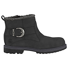 Buy Timberland Nellie Biker Ankle Boots, Black Online at johnlewis.com