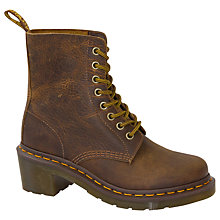 Buy Dr. Martens Parade Rugged Ankle Boots, Tan Online at johnlewis.com
