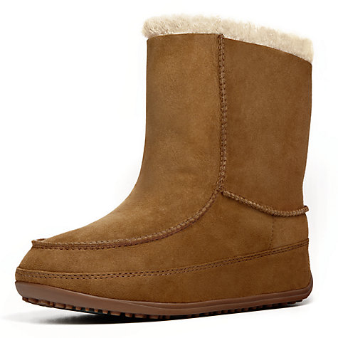 Buy FitFlop Mukluk Moc2 Ankle Boots Online at johnlewis.com