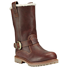 Buy Timberland Nellie Calf Boots, Brown Online at johnlewis.com