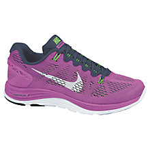 Buy Nike Women's LunarGlide+ 5 Running Shoes Online at johnlewis.com