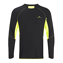 Buy Ronhill Men's Vizion Long Sleeve Running Top Online at johnlewis.com