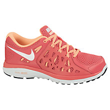 Buy Nike Women's Dual Fusion Running Shoes, Pink Online at johnlewis.com