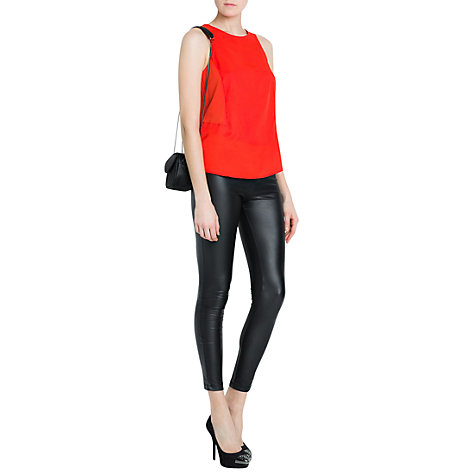 Buy Mango Strap Top Online at johnlewis.com