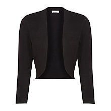 Buy Planet Blister Stitch Shrug, Black Online at johnlewis.com