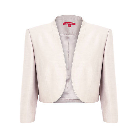 Buy Jacques Vert Bolero, Neutral Online at johnlewis.com