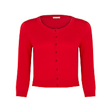 Buy Planet Pointelle Cropped Cardigan Online at johnlewis.com