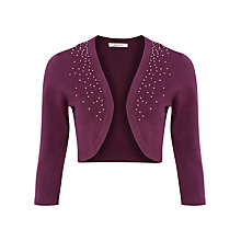 Buy Jacques Vert Beaded Shrug Online at johnlewis.com