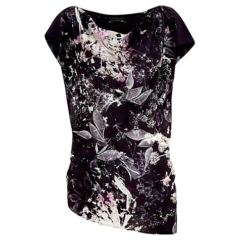 Buy Mint Velvet Leonie Print Tunic Top, Multi Online at johnlewis.com