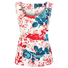 Buy Alexon Printed Floral Top, Multi Online at johnlewis.com