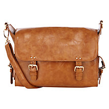 Buy Warehouse Mini Clean Satchel, Tan Online at johnlewis.com