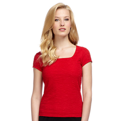 Buy Planet Crinkle Jersey Top Online at johnlewis.com