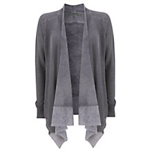 Buy Mint Velvet Damson Overdye Cardigan, Purple Online at johnlewis.com