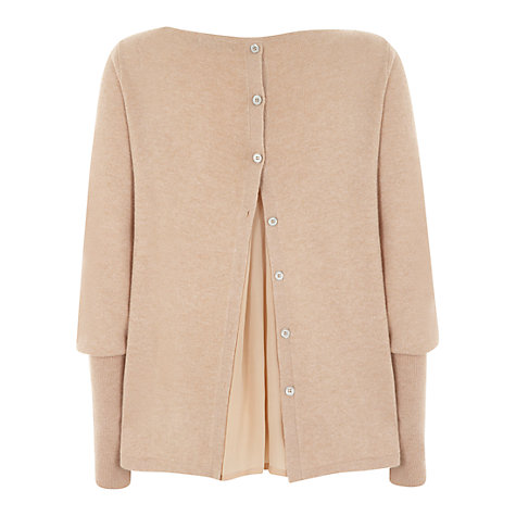 Buy Mint Velvet Foundation Jumper, Pale Pink Online at johnlewis.com