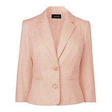 Buy Jaeger Bow Back Jacket, Peach Online at johnlewis.com