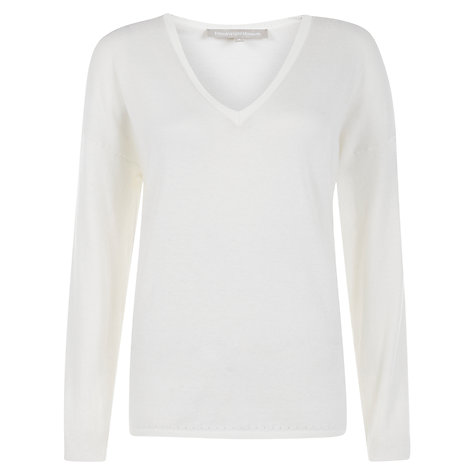 Buy Fenn Wright Manson Navona Jumper, White Online at johnlewis.com