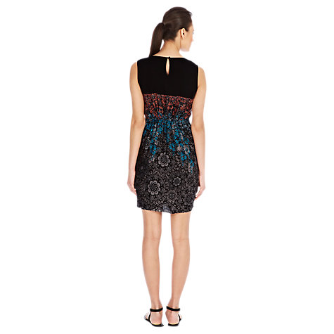Buy Warehouse Stencil Dress, Multi Online at johnlewis.com
