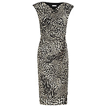 Buy Planet Animal Print Jersey Dress, Multi Online at johnlewis.com