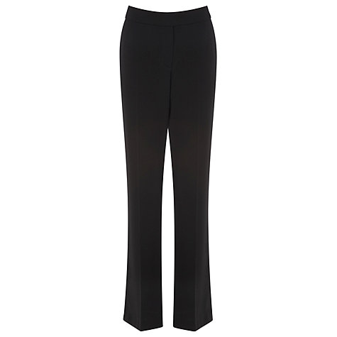 Buy Planet Straight Leg Trousers, Black Online at johnlewis.com