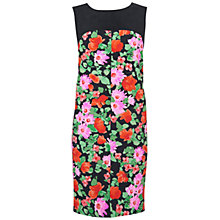 Buy Jaeger Floral Dress, Dark/Multi Online at johnlewis.com