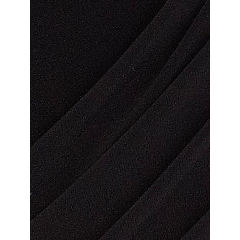 Buy Planet Draped Crepe Jersey Dress, Black Online at johnlewis.com
