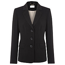 Buy Planet Short Twill Jacket, Black Online at johnlewis.com