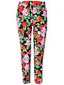 Jaeger Floral Trousers, Dark/Multi