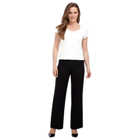 Buy Precis Petite Pleat Front Jersey Top Online at johnlewis.com