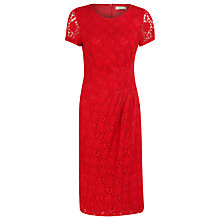 Buy Planet Lace Dress, Red Online at johnlewis.com
