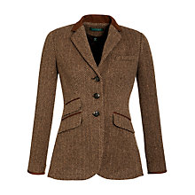 Buy Lauren by Ralph Lauren Hacking Jacket, Vicuna/Camel Online at johnlewis.com