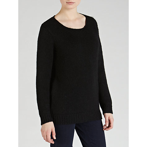 Buy Minimum Rib Jumper, Black Online at johnlewis.com