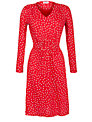 People Tree Pippa Floral Dress, Red