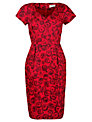People Tree Lauren Rose Dress, Red