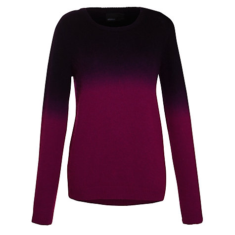 Buy Minimum Dip Dye Jumper, Magenta Online at johnlewis.com