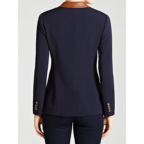 Buy Lauren by Ralph Lauren Hacking Jacket, Regal Navy Online at johnlewis.com