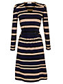 People Tree Pippa Stripe Dress, Navy