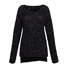 Buy Minimum Pernille Jumper, Black Online at johnlewis.com