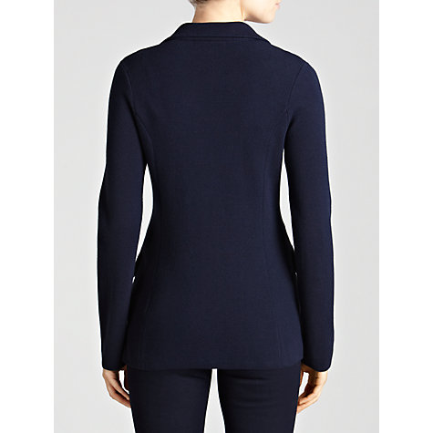 Buy Lauren by Ralph Lauren Button Front Blazer, Regal Navy Online at johnlewis.com