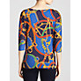 Buy Lauren by Ralph Lauren Jasmine Boat Neck Top, Earl Blue Online at johnlewis.com