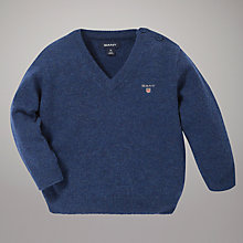 Buy Gant V-Neck Jumper Online at johnlewis.com